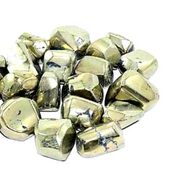 golden pyrite tumble