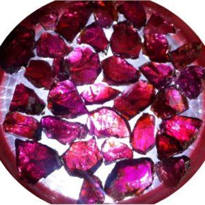 Pink Garnet Gemstone