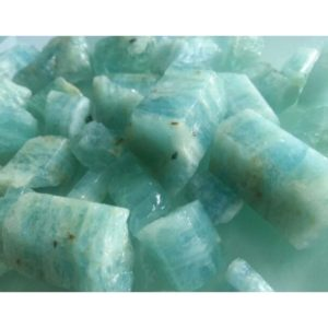 Aquamarine Blue Gemstone Raw