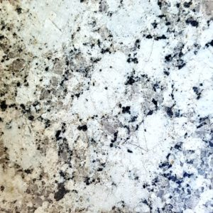 P White Galaxy Granite Slabs
